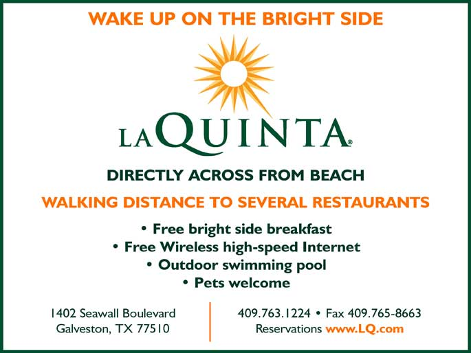 hotels la quinta inn galveston tx