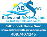 vacation A B Sea Sales Rentals Inc galveston