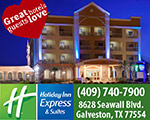 holiday inn express suites galveston tx